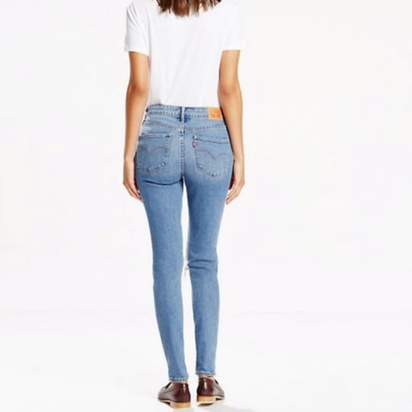 Women's Levi's high rise skinny jeans size 25 NWT